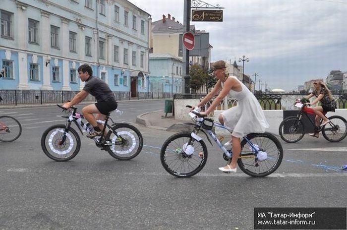 Велосвадьба в Казани (25 фото)