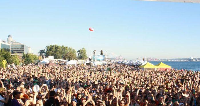 Музыкальный фестиваль в Сиэтле (48 фото)