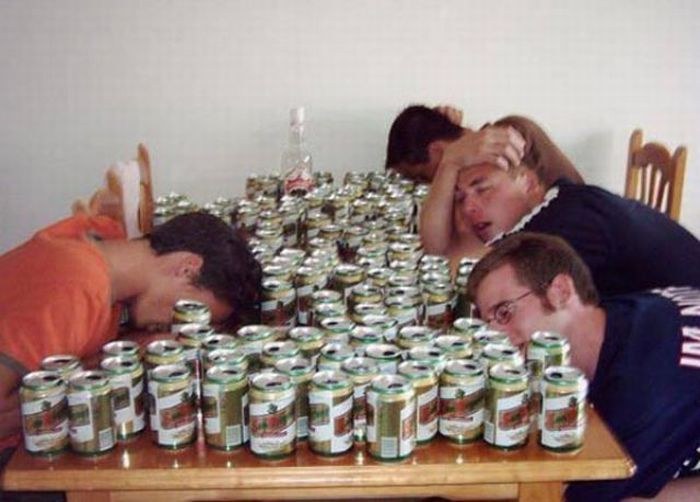 Очень пьяные люди (63 фото)