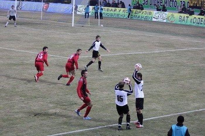 Смешной футбол (40 фото)