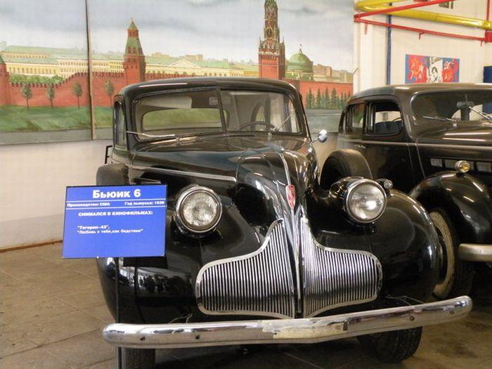 Машины Мосфильма (14 фото)