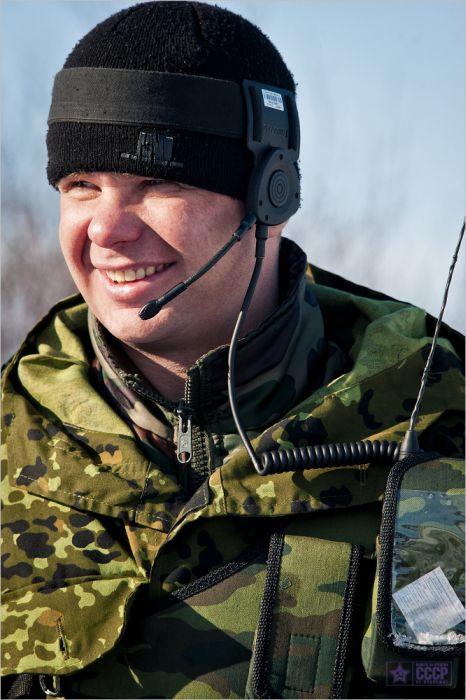 Тренировка мотострелковой бригады (27 фото)
