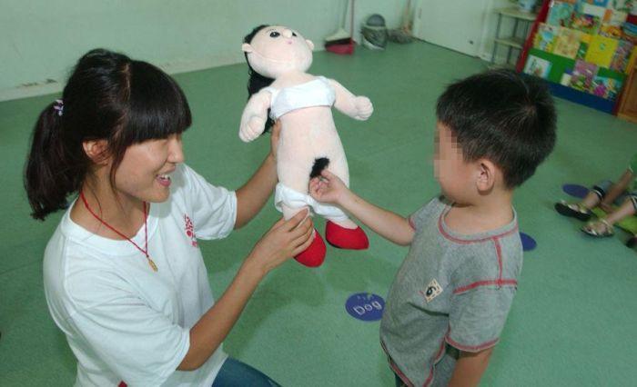 Урок анатомии в китайской школе (8 фото)