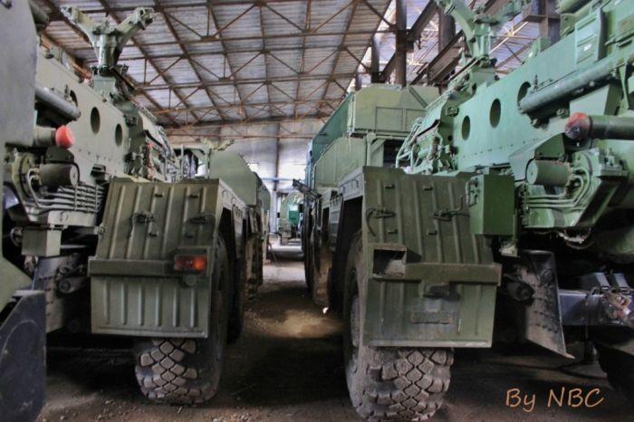 Где хранится законсервированная военная техника (29 фото)