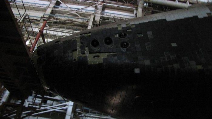 """Где хранится корабль """"Буран"""" (26 фото)"""