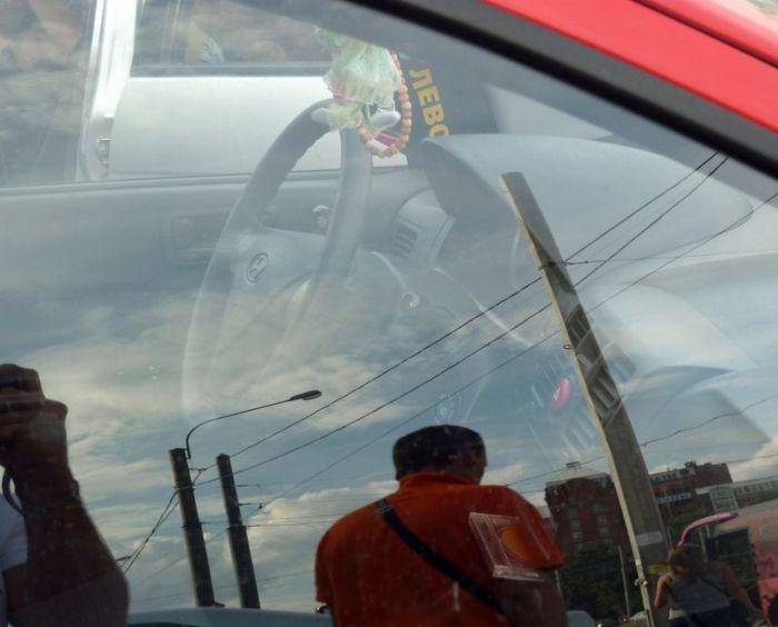 Подсказка для водителя (4 фото)