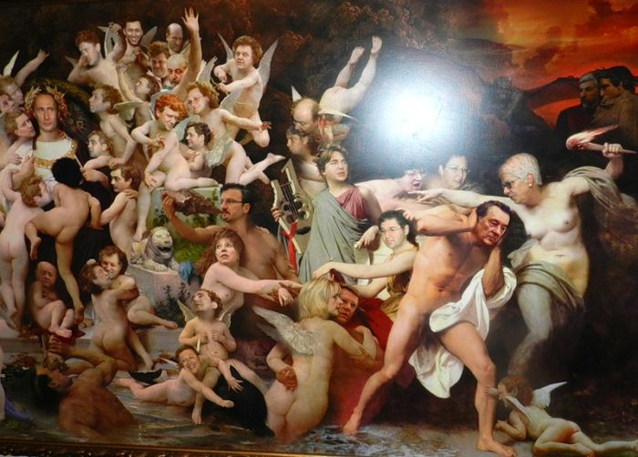 "Картина ""Содом и Гоморра"" (4 фото)"