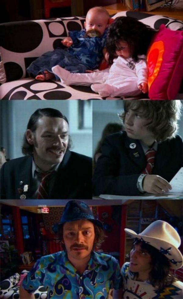 Дети и главные герои (21 фото)