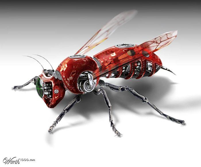 Животные-роботы (38 фото)