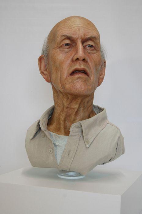 Гиперреалистичные скульптуры (20 фото)