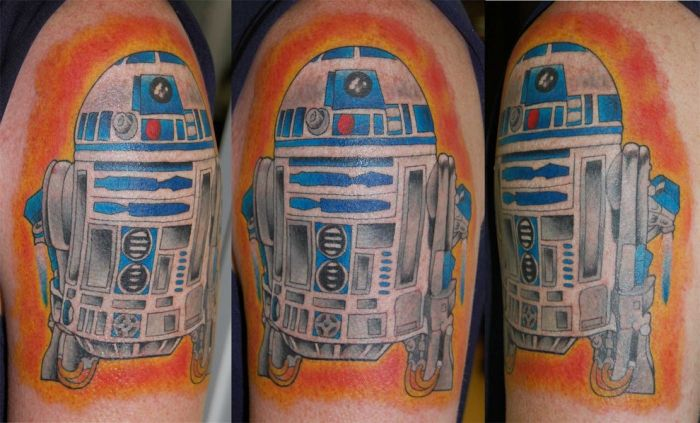 """Татуировки в стиле """"Звездные Войны"""" (118 фото)"""