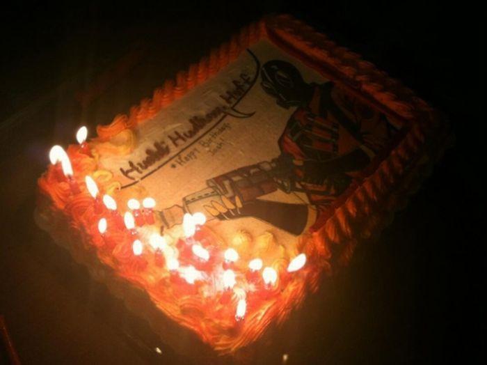 Необычный торт (5 фото)