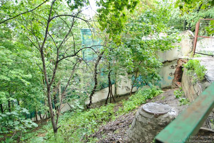 Заброшенный эскалатор на Воробьевых горах (34 фото)