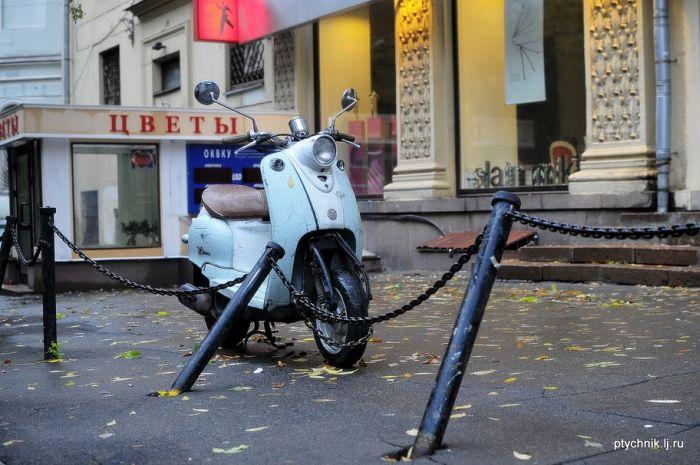 Парковка в Москве (20 фото)