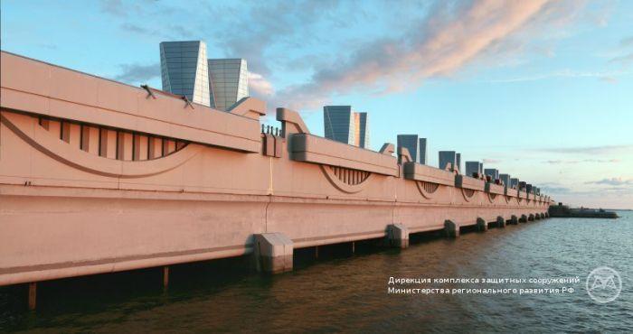 Питер. Комплекс защитных сооружений достроен (11 фото)