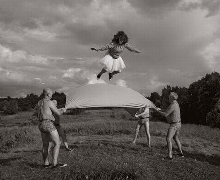 Гениальные черно-белые фотографии (36 фото)