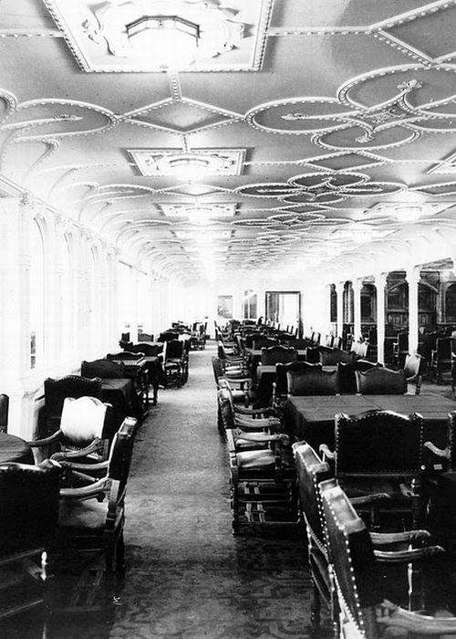 """Внутри """"Титаника"""" (25 фото)"""