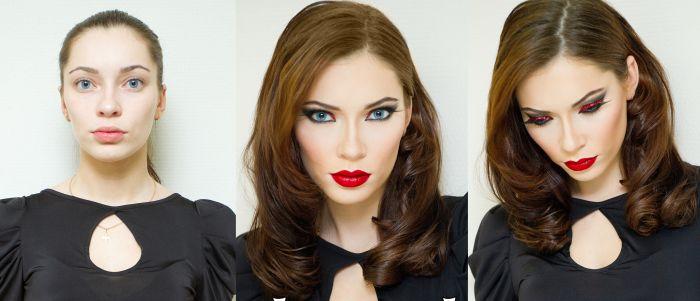 Чудеса макияжа (32 фото)