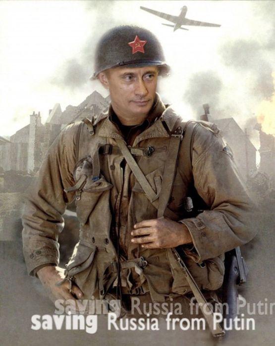 Фотожаба на Владимира Путина (21 картинка)
