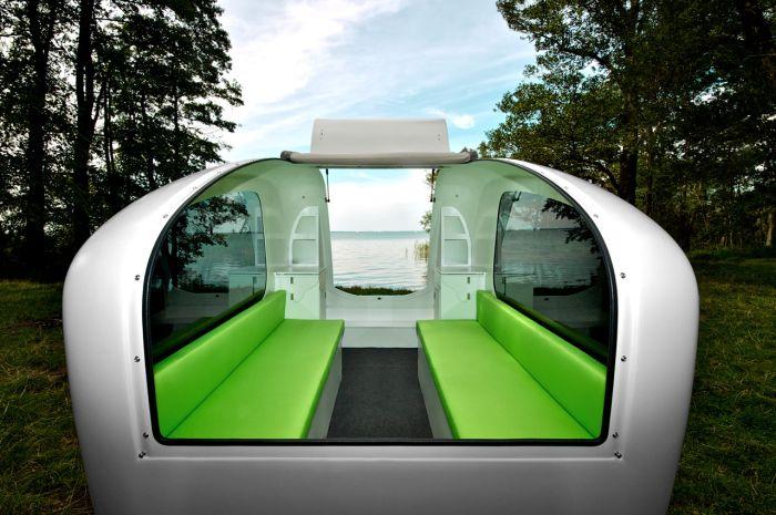 Необычный дом на колесах (15 фото)