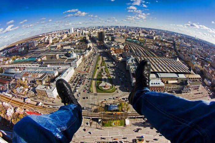 Покорители городских вершин (49 фото + видео)