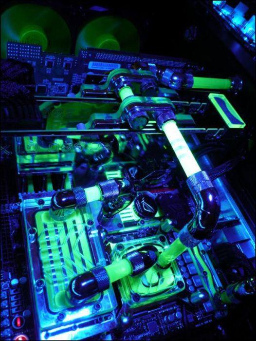 Стильный компьютерный моддинг (68 фото)