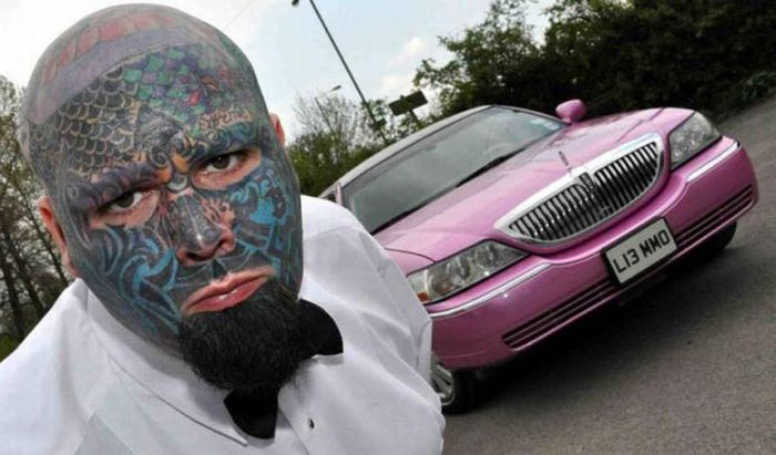 Татуированный парень (32 фото)