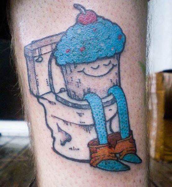 Худшие татуировки. Часть 2 (87 фото)