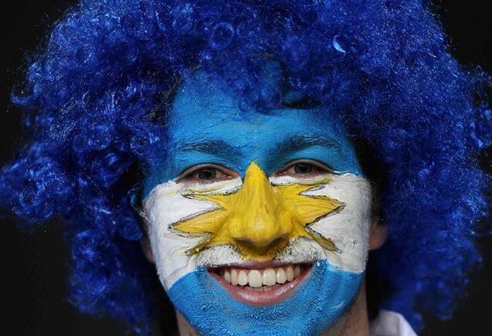 Болельщики с Чемпионата Мира по регби в Новой Зеландии (33 фото)