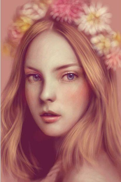 Цифровые портреты (11 фото)