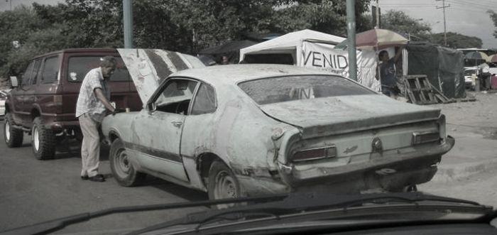 Страшный сон автолюбителя (33 фото)