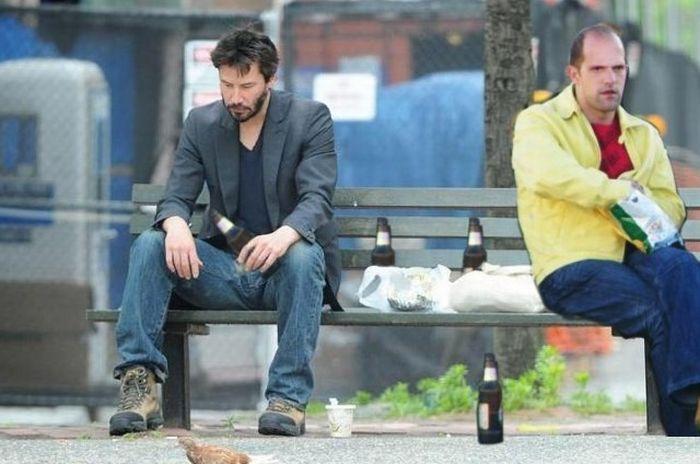 """Стэтхэм удивил на премьере фильма """"Профессионал"""" (25 фото)"""