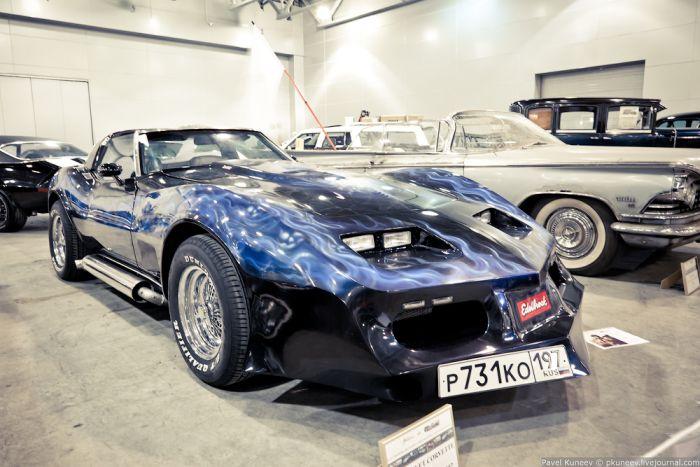 Выставка ретро автомобилей (48 фото)