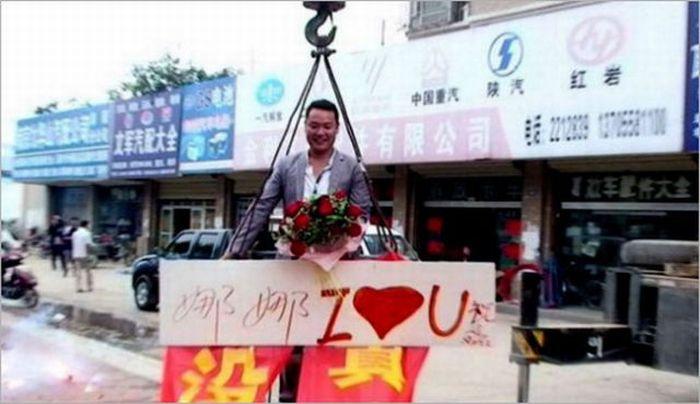 Романтик из Китая (5 фото)