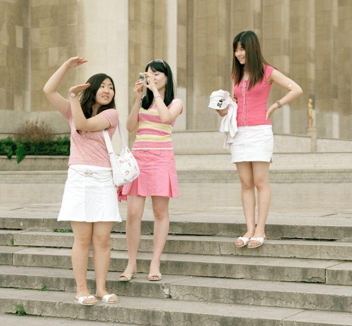 Туристы со стороны (9 фото)