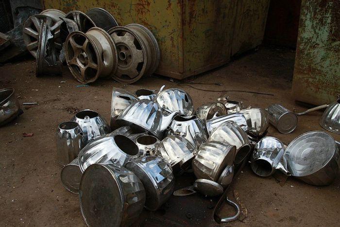 Вторая жизнь для металлолома (46 фото)