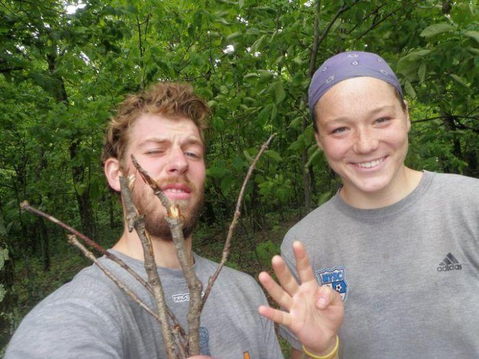 132 дня в лесу (132 фото)