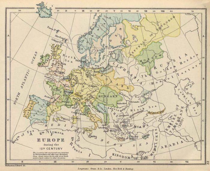 Старинные карты (10 картинок)