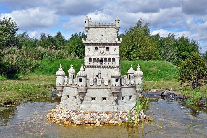 Парк миниатюрных достопримечательностей (49 фото)