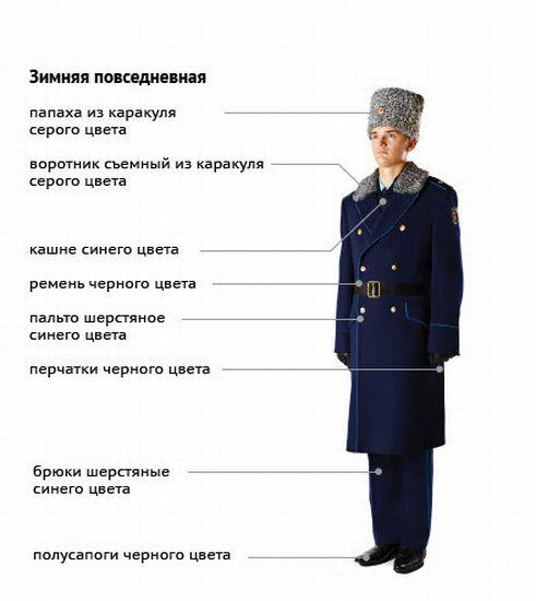 Новая форма ВМФ и сухопутных войск (6 картинок)