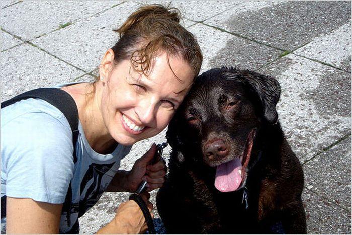 Люди и их собаки (52 фото)