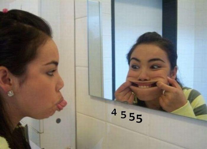 Симпатичные девушки, занимающиеся странными вещами. Часть 6 (37 фото)