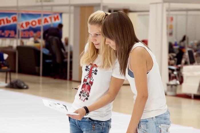 Самый большой рисунок в Ростове-на-Дону 2011 (55 фото)