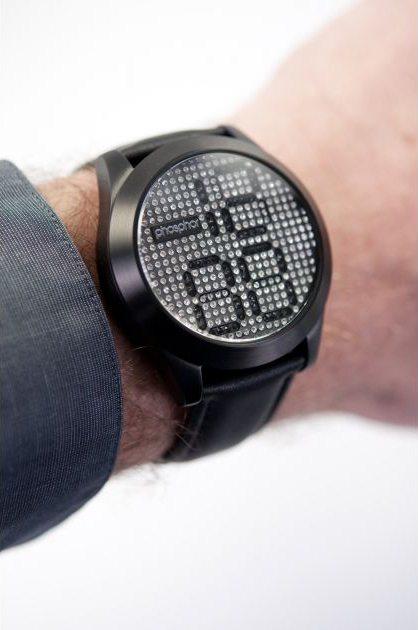 Обзор часов Appear от Phosphor с вращающимися кристаллами Swarovski (7 фото + 2 видео)