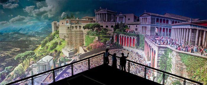 Панорама античного города (3 фото)