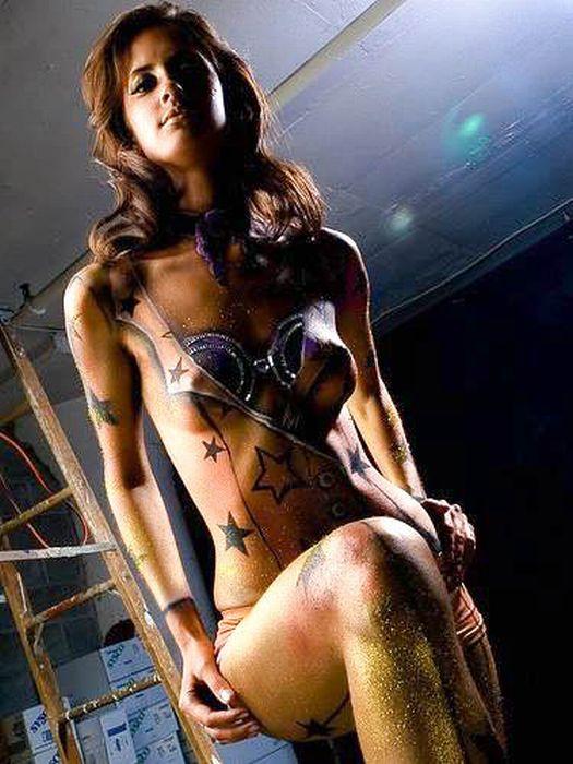 Сексуальный бодиарт (101 фото)