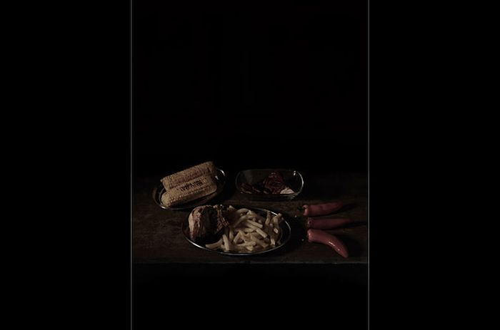 Последняя трапеза перед казнью (13 фото)