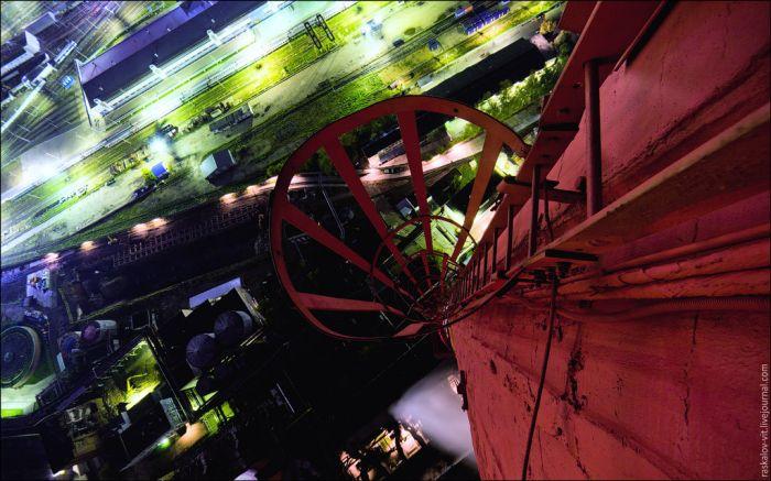 Режимный объект ТЭЦ-12 (9 фото)