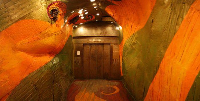 Удивительный лифт в Нью-Йорке (14 фото)
