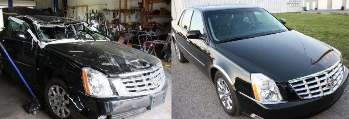 Как из двух авто делают одно (24 фото)